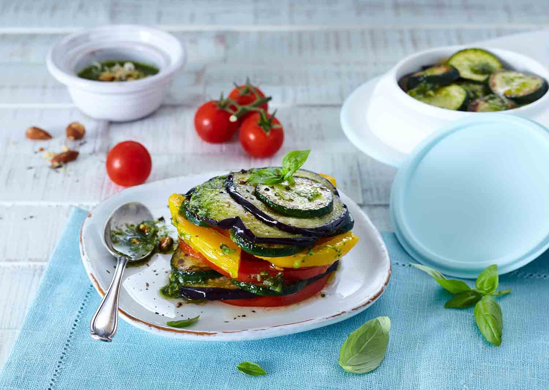 Provenzalisches Gemüse mit Pesto